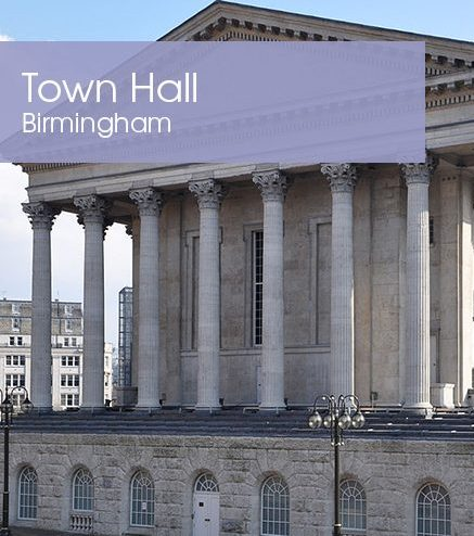 Birmingham Town Hall – Special Offer
