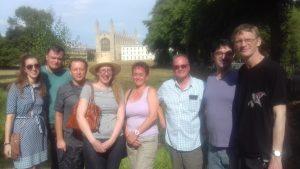 Cambridge Cultural Weekend Fam Trip